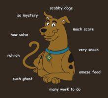 Scabby Doge - Light Text by Pyranda