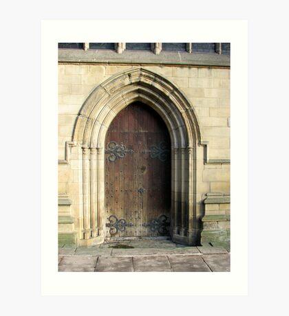chesterfield entrance Art Print