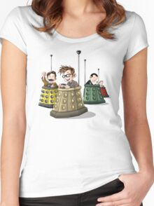 Bump the Doctor Women's Fitted Scoop T-Shirt