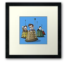 Bump the Doctor Framed Print