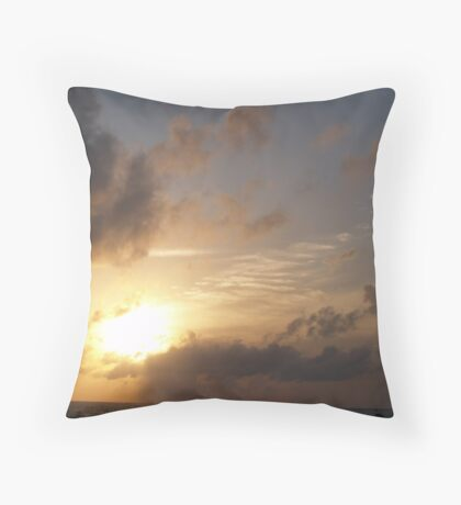 Majestic Sunset Throw Pillow