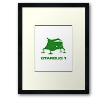 The Green Fat One (green version) Framed Print