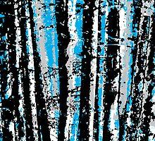 through the trees by Adam Johnston