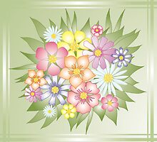 meadow  flowers by VioDeSign