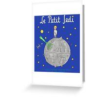 Le Petit Jedi Greeting Card