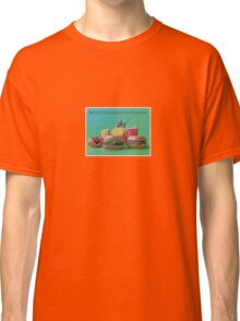 #FastFoodTurfWar by Tim Constable Classic T-Shirt