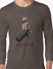 Sniping - photographer-style! Long Sleeve T-Shirt
