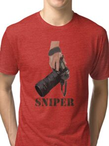 Sniping - photographer-style! Tri-blend T-Shirt