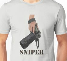 Sniping - photographer-style! Unisex T-Shirt