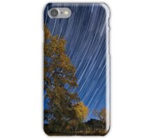 Startrails over Live Oak iPhone Case/Skin