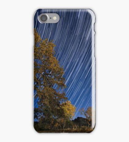 Startrails over Live Oak iPhone Case/Skin