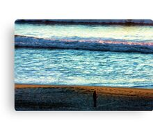 Watching With Awe Canvas Print