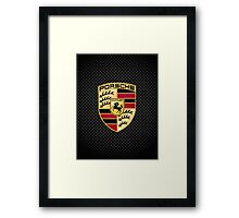 Stuttgart Carbon Fibre iPhone / Samsung Galaxy Case Framed Print