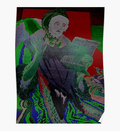 Old lady McGrath Poster