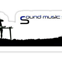 dj sound music solutions Sticker