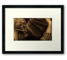 Portrait Without A Face  Framed Print