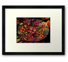 Flowered Bush Framed Print