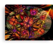 Flowered Bush Canvas Print