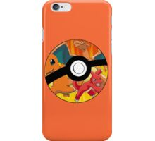 Pokeball, Charmander, Charmeleon, Charizard iPhone Case/Skin