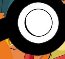 Pokeball, Charmander, Charmeleon, Charizard Sticker