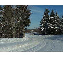 Snow Country Photographic Print