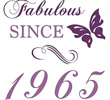 1965 Fabulous Birthday by thepixelgarden