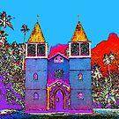 A Church In Moorea by deahna