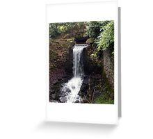 Newhay Waterfall Greeting Card