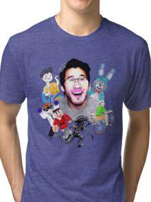 Markiplier 2014 Highlights Tri-blend T-Shirt