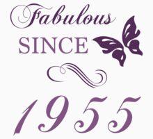 1955 Fabulous Birthday T-Shirt