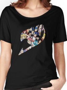 Fairy Tail Logo WITH COLOR!!! :D Women's Relaxed Fit T-Shirt