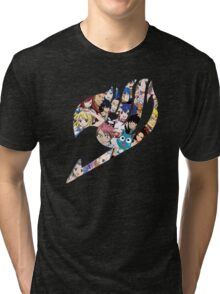 Fairy Tail Logo WITH COLOR!!! :D Tri-blend T-Shirt