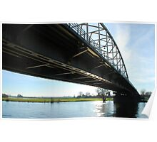 Crossing the River IJssel Poster