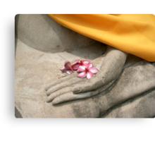 buddhist offering, thailand Canvas Print