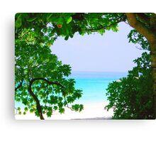 Morning Sea, Thailand Canvas Print