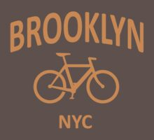 I Bike Brooklyn by robotface