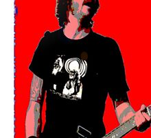 Dave Grohl - Red Classic by rikovski