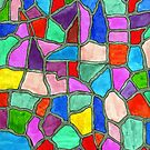 A Stained Glass Mosaic of Thought by James Peele