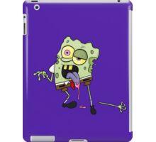 zombie spongebob iPad Case/Skin