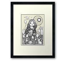 See Emily Play Tee Framed Print