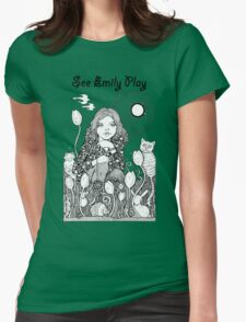 See Emily Play Tee Womens Fitted T-Shirt