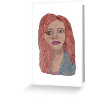 lydia Greeting Card