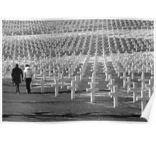 Cimitero di guerra Americano  Poster