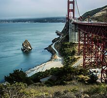 Golden Gate Bridge Vista by Nicole Petegorsky