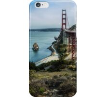 Golden Gate Bridge Vista iPhone Case/Skin