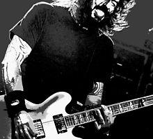 Dave Grohl - Black Rocking Out by rikovski