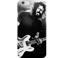 Dave Grohl - Black Rocking Out iPhone Case/Skin