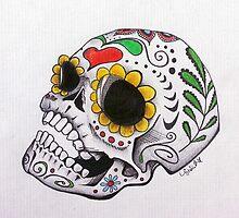 sugar skull by cyndicus