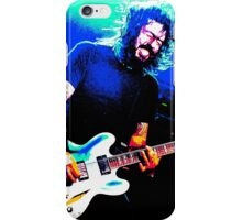 Dave Grohl - Black Rocking Out Colour iPhone Case/Skin