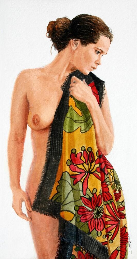 Margaret Preston Shawl by Freda Surgenor